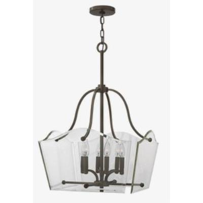 Hinkley Lighting 3004OZ Wingate - Six Light Dinette Chandelier