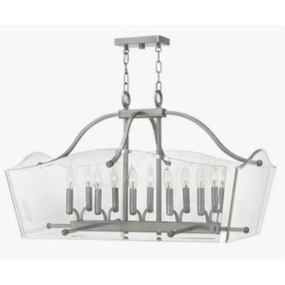 Hinkley Lighting 3005PL Wingate - Ten Light Rectangular Foyer