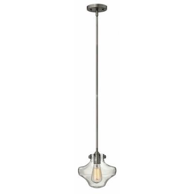 Hinkley Lighting 3129AN Congress - One Light Mini-Pendant