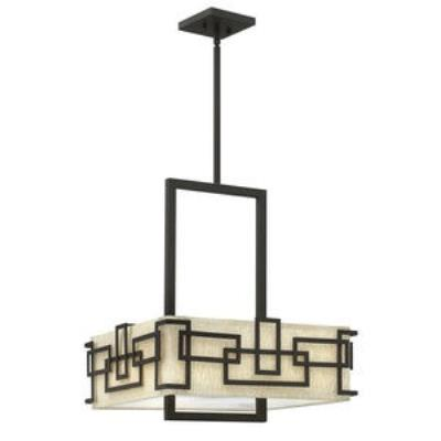 Hinkley Lighting 3163OZ Lanza - Three Light Drum Chandelier