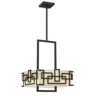 Hinkley Lighting 3164OZ Lanza - Three Light Drum Chandelier