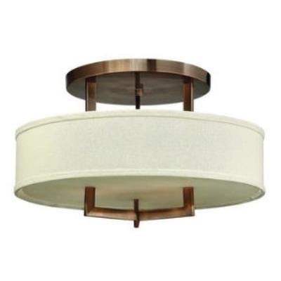 Hinkley Lighting 3201BR Hampton Three Light Chandelier