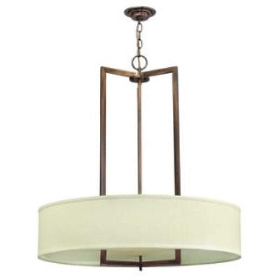 Hinkley Lighting 3206BR Hampton Three Light Chandelier