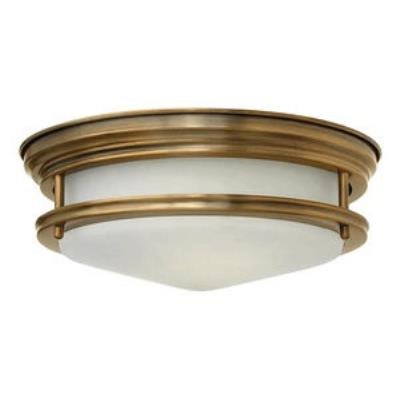 Hinkley Lighting 3302BR Hadley - Two Light Flush Mount