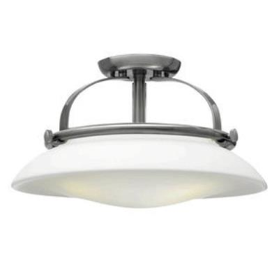 Hinkley Lighting 3321BN Hutton - Three Light Semi-Flush Mount