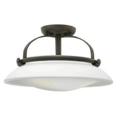 Hinkley Lighting 3321OZ Hutton - Three Light Semi-Flush Mount