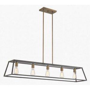 Fulton - Five Light Linear Chandelier