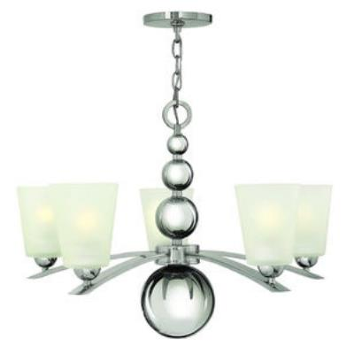 Hinkley Lighting 3445PN Zelda - Five Light Chandelier