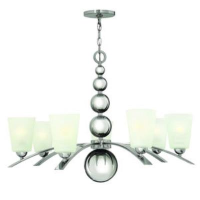 Hinkley Lighting 3446PN Zelda - Seven Light Chandelier