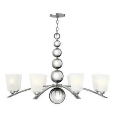Hinkley Lighting 3448PN Zelda - Eight Light Chandelier