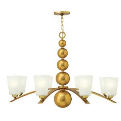 Hinkley Lighting 3448VS Zelda - Eight Light Chandelier