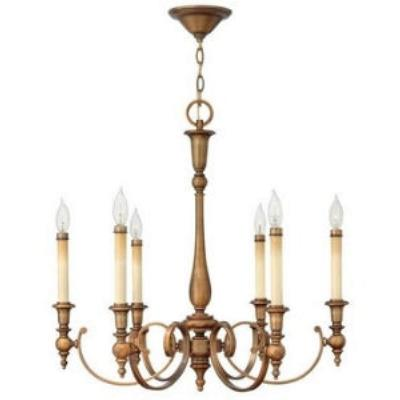 Hinkley Lighting 3626BR 6LT CHANDELIER