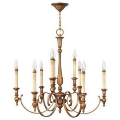 Hinkley Lighting 3628BR 9LT CHANDELIER