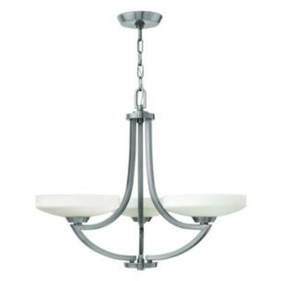 Hinkley Lighting 3963PL Darien - Three Light Chandelier