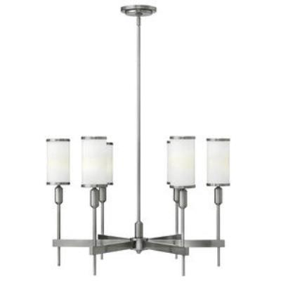 Hinkley Lighting 4076BN Princeton - Six Light Chandelier