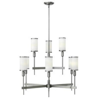 Hinkley Lighting 4078BN Princeton - Nine Light 2-Tier Chandelier