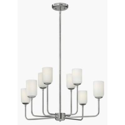 Hinkley Lighting 4218PN Harlow - Eight Light Chandelier