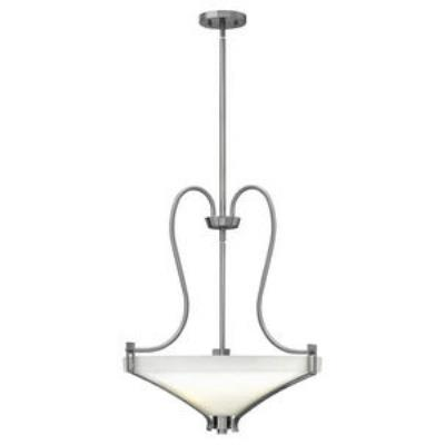 Hinkley Lighting 4224BN Channing - Three Light Invert Foyer