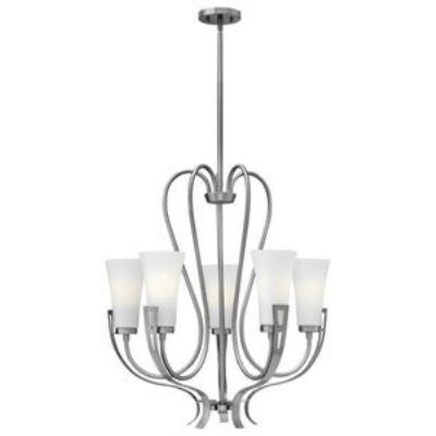 Hinkley Lighting 4225BN Channing - Five Light Chandelier