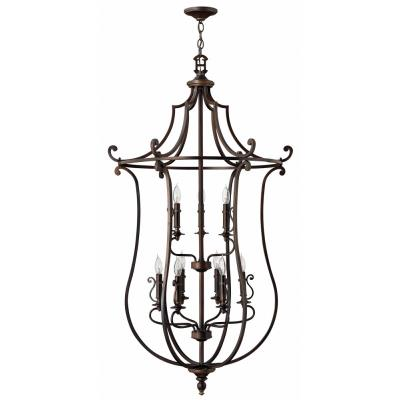 Hinkley Lighting 4259OB Plymouth Nine Light Chandelier