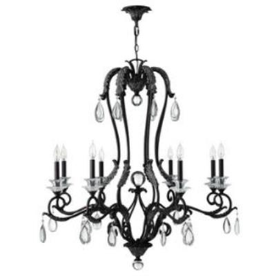 Hinkley Lighting 4404GR Marcellina Eight Light Chandelier