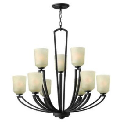 Hinkley Lighting 4438 Parker - Two Tier Nine Light Chandelier