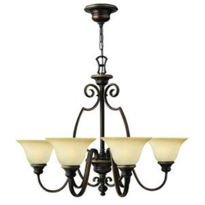 Hinkley Lighting 4566AT Cello 6lt Chandelier
