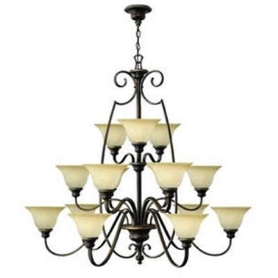 Hinkley Lighting 4569AT Cello 6lt Chandelier