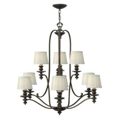 Hinkley Lighting 4598RY Dunhill - Nine Light Chandelier