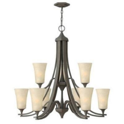 Hinkley Lighting 4638OZ 2 TIER 9LT CHANDELIER