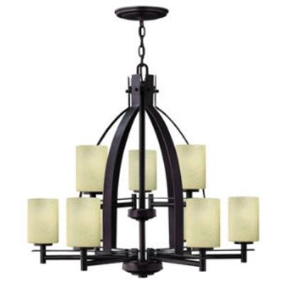 Hinkley Lighting 4728MC Stowe 2 Tier 9lt Chandelier