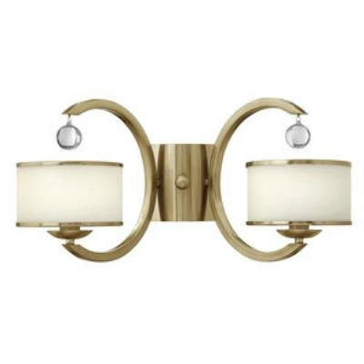 Hinkley Lighting 4852BC Monaco - Two Light Wall Sconce