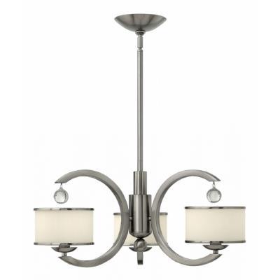 Hinkley Lighting 4853BN Monaco - Three Light Chandelier