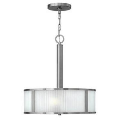 Hinkley Lighting 4972BN Midtown - Three Light Inverted Chandelier