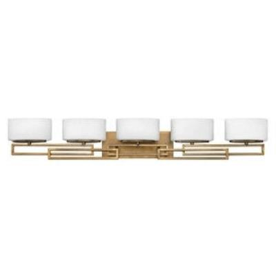 Hinkley Lighting 5105BR Lanza - Five Light Bath Bar