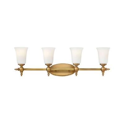 Hinkley Lighting 5744BR Yorktown - Four Light Bath Bar