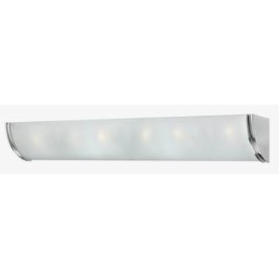 Hinkley Lighting 5886CM Zara - Six Light Bath Bar