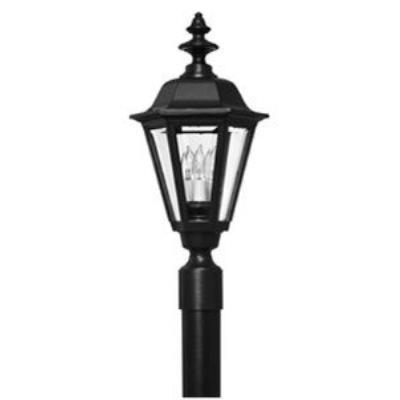 Hinkley Lighting 1441BK Manor House Cast Outdoor Lantern Fixture