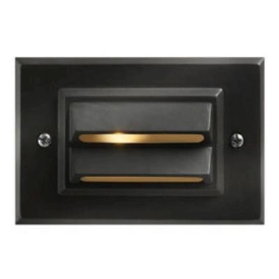 Hinkley Lighting 1546BZ Low Voltage One Light Outdoor Deck/Step Lamp