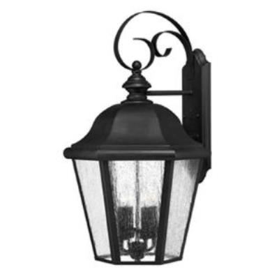 Hinkley Lighting 1675BK Edgewater Cast Outdoor Lantern Fixture