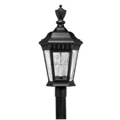 Hinkley Lighting 1707BK Camelot Cast Outdoor Lantern Fixture