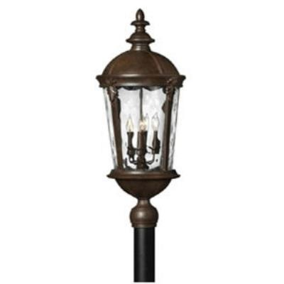 Hinkley Lighting 1891RK Windsor Brass Outdoor Lantern Fixture