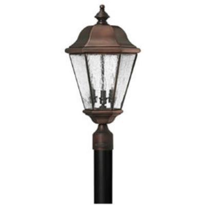 Hinkley Lighting 2261AP Clifton Beach Brass Outdoor Lantern Fixture
