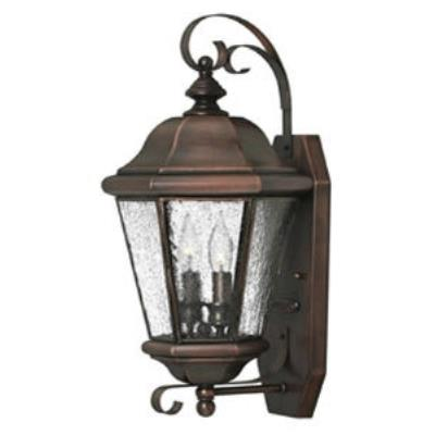 Hinkley Lighting 2265AP Clifton Beach Brass Outdoor Lantern Fixture