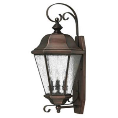 Hinkley Lighting 2268AP Clifton Beach Brass Outdoor Lantern Fixture