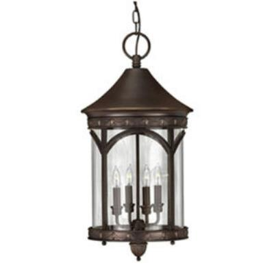 Hinkley Lighting 2312CB Lucerne Brass Outdoor Lantern Fixture