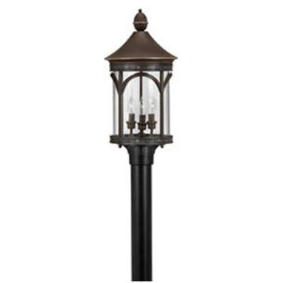 Hinkley Lighting 2317CB Lucerne Brass Outdoor Lantern Fixture