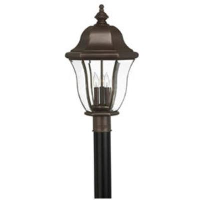 Hinkley Lighting 2331CB Monticello Brass Outdoor Lantern Fixture