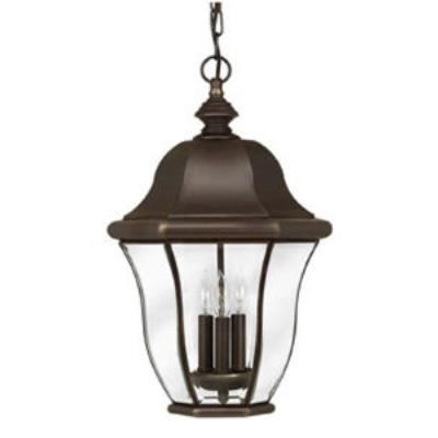 Hinkley Lighting 2332CB Monticello Brass Outdoor Lantern Fixture