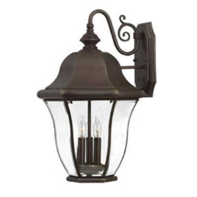 Hinkley Lighting 2335CB Monticello Brass Outdoor Lantern Fixture